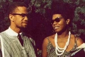 Maya Angelou and Malcolm X